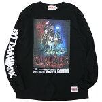 ANIMALIAアニマリア:長袖ストレンジャーTシャツ/BLACK
