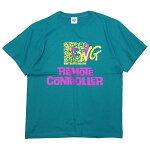 B.W.Gビーダブリュージー:半袖リモートコントローラーTシャツ/APPLEGREEN