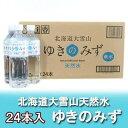 送料無料 北海道の水 550ml 軟水 北海道産 お水 ゆきのみず 軟水 ペットボトル 550ml 24本入×1箱(1ケース) 北海道 ミネラルウォータ