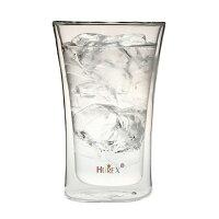 ヒューレックス耐熱ダブルウォールビアグラス容量:400ml