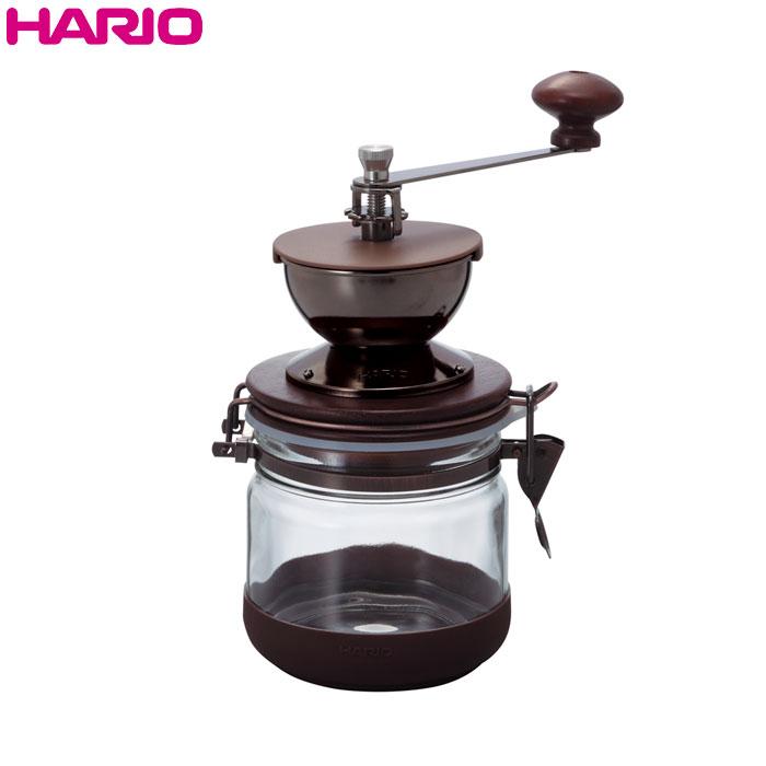 HARIO(ハリオ)キャニスターコーヒーミル 保存容量(コーヒー粉)約120g