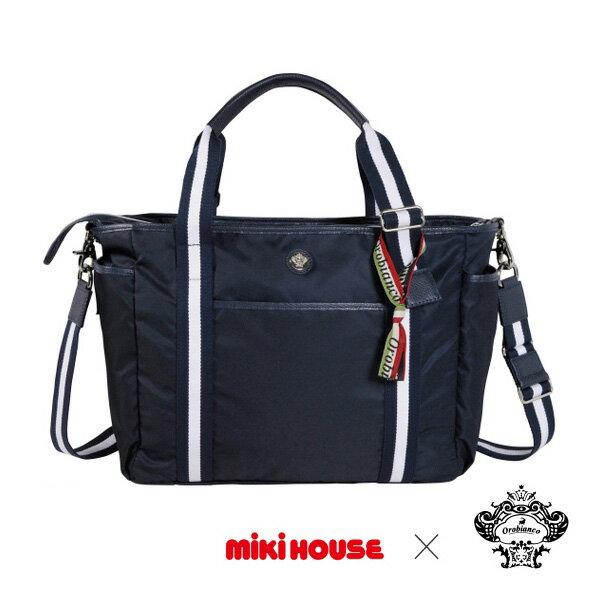 ミキハウス正規販売店/ミキハウス mikihouse (ベビー)Orobianco×ミキハウス☆コラボマザーバッグ