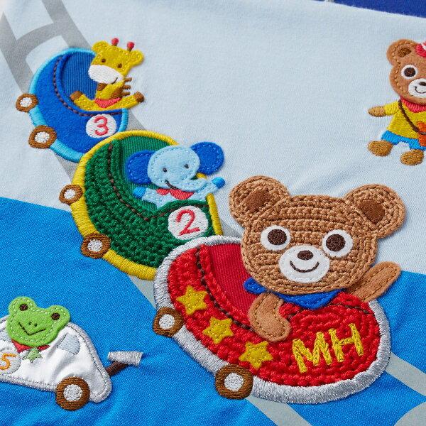 ミキハウス mikihouse プッチー テーマパーク半袖Tシャツ(80cm・90cm・100cm)