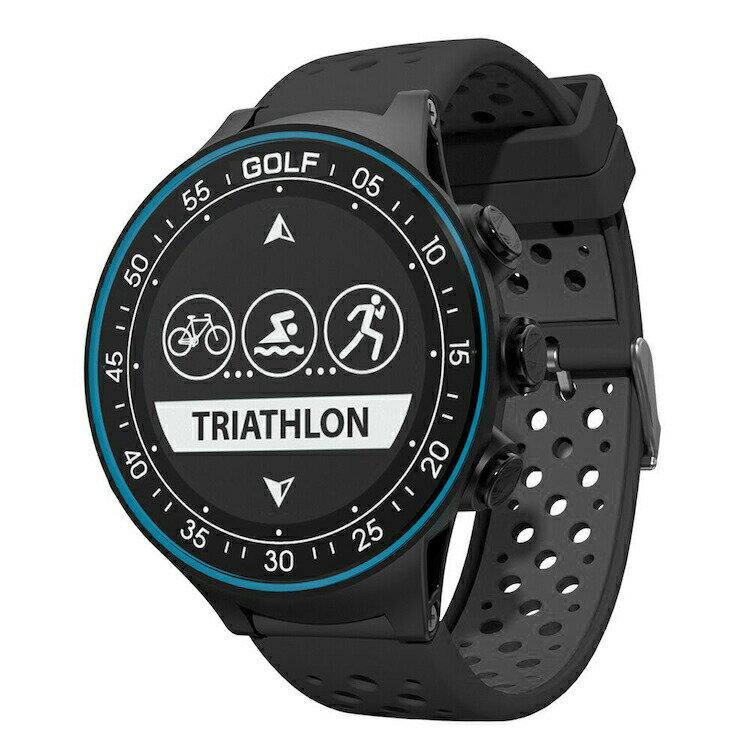 GPS搭載マルチスポーツウォッチ 心拍センサー搭載 ゴルフ機能 Bluetooth4.0 iOS/Androidアプリ対応 軽量 40m防水仕様 多機能GPSスポーツ腕時計 日本語マニュアル HOP-TW-410 送料無料
