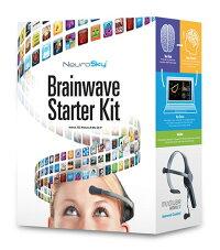 新製品●NeuroSky脳波センシング簡易脳波計ヘッドセットMindWaveMobile2[BrainWaveStarterKit]日本語版説明書とフリーアプリCDと電池付[型番:80027-032正規輸入品]
