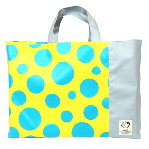 ba95ce51eba4 レモンドット 撥水レッスンバッグ HOPPE(ホッペ)【日本製 手作り 入園入学