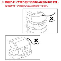 普通車、バン、軽自動車向けのリアアンダーミラー