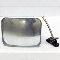 クリップで簡単取付け日本製カーブミラー、ガレージミラー、防犯ミラー。映りの良いガラス製。