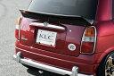 KLC ミラジーノ L700S L710S リアウイング ウィング FRP KLC ...
