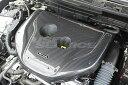 ガレージベリー CX-3 DK5FW DK5AW エンジンフードカバー 綾織...