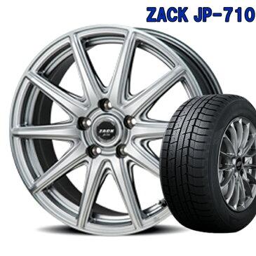 ZACK JP 710 スタッドレスタイヤ ホイールセット 1本 16インチ 5H100 6.5J+48 ジャパン三陽 グッドイヤー アイスナビ7 205/55R16 205 55 16