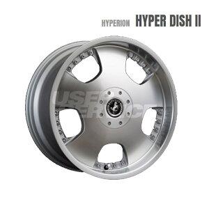 HYPERION HYPER DISH II ホイール 4 本 18インチ 8.0J+35 4Hマルチ 5Hマルチ114.3 4穴 ポリッシュ MLJ ハイペリオン ハイパーディッシュ