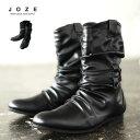 ◆ポインテッドドレープブーツ◆靴 冬服 冬 メンズ ブーツ エンジニアブーツ