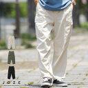 ◆綾織ワイドカーゴパンツ ◆カーゴパンツ メンズ ミリタリー ワークパンツ ボトムス メンズファッション 夏 夏服 夏物 綿 綿100% ブラック ホワイト ワイド