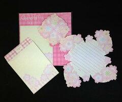 折り手紙 春/桜ブーケ ホールマーク/Hallmark BES-646-608 (3) 折って送って素敵なレター...