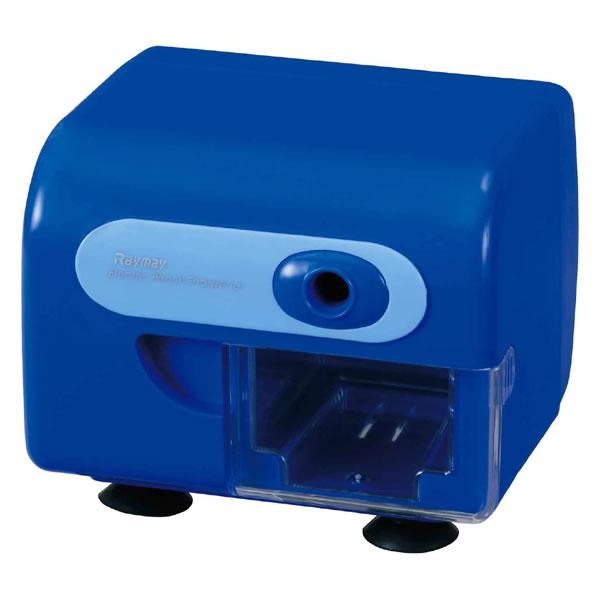 電動鉛筆削器 ブルー RT453A レイメイ藤井