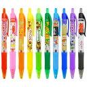 お菓子な香りつき ノック式カラーボールペン10本セット(10色) colorballpen-10s ギフトや景品にも サカモト