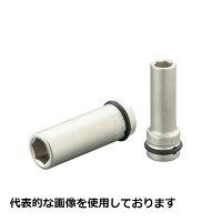 TONE3NV-06L奥まった所にインパクト用ロングソケット二面幅寸法6mm全長55mm差込角9.5mm(3/8)