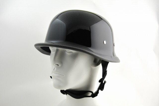 BICYCLE HELMET/GERMAN HALF HELMET/ジャーマンハーフヘルメット/ブラック(検索ワード)装飾用ジャーマンヘルメット・ナチヘル・ドイツ・アメリカン・USAノベルティー・ハンボウ・半帽・半ヘル・スケボー・SK8・スノボー・MTB