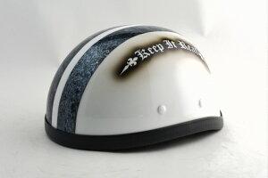 BICYCLE HELMET/EAGLE HALF HELMET/ohe02swイーグルハーフヘルメット/カスタムペイント(検索ワード)マーブライザーキャンディーハーレーデザインペイントラップ塗装装飾用ダックテールアウトロー