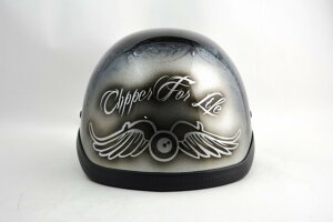 BICYCLE HELMET/NOVELTY HAWK/ohhflyingeye04mbノベルティーヘルメット/カスタムペイント(検索ワード)マーブライザーキャンディーハーレーデザインペイントラップ塗装装飾用ダックテールアウトロー