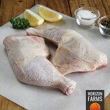 ニュージーランド産 有機 オーガニック チキン 骨付き もも肉 チキンレッグ 高品質 フリーレンジ 放し飼い 鶏肉 500g
