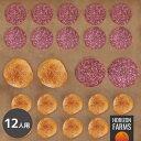 高品質 ハンバーガー セット 12人用 無添加 ビーフパティ