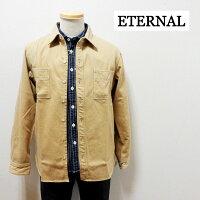 ETERNALエターナルヘビーフランネルシャツ【52100】日本製