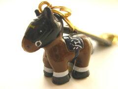 ジェンティルドンナ携帯ストラップ・競走馬ストラップ三冠馬バージョン 【メール便可】