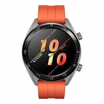 HUAWEI WATCH GT(46mm) スマートウォッチ Orange 1.39インチAMOLED(有機EL)タッチディスプレイ/GPS/2週間バッテリー/リアルタイム心拍計測/5気圧防水