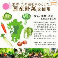 乾燥野菜ミックスは国産野菜100%です