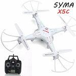 ドローンカメラ付きラジコンマルチコプター空撮Drone高画質200万画素無人機X5C4CH6軸ジャイロ室内ラジコンヘリ360°宙返り安定飛行SDカード付SYMAドローン【あす楽】