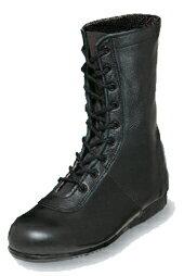 エンゼル消防作業靴【5801】チャックなしタイプ 先芯−合成材甲革:牛革クロム靴底:合成ゴム※安全靴ではありませんステンレス板入り