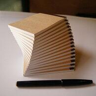 ミニサイズメモ帳K6-JW-50【Sセット・16冊】なか紙:上質紙(白・無地)・50枚