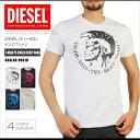 ディーゼル DIESEL Tシャツ メンズ 半袖 Tee 00ALNK R091B T-HEAD PS ブレイブマン DS41251SL メール便送料無料