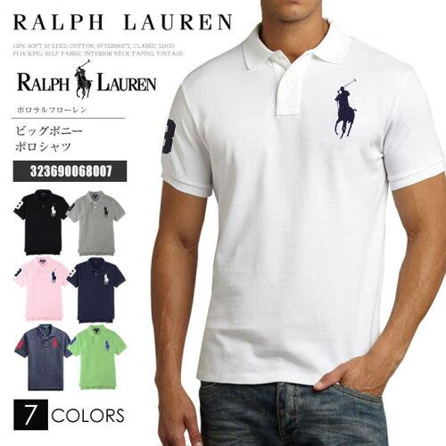 ラルフローレン ポロシャツ RALPH LAUREN POLO ポロ ポロラルフローレン ラルフ メンズ 半袖 ビッ...