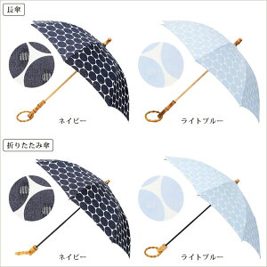 【SURMERシュールメール日傘透かし水玉長傘/折りたたみ傘】