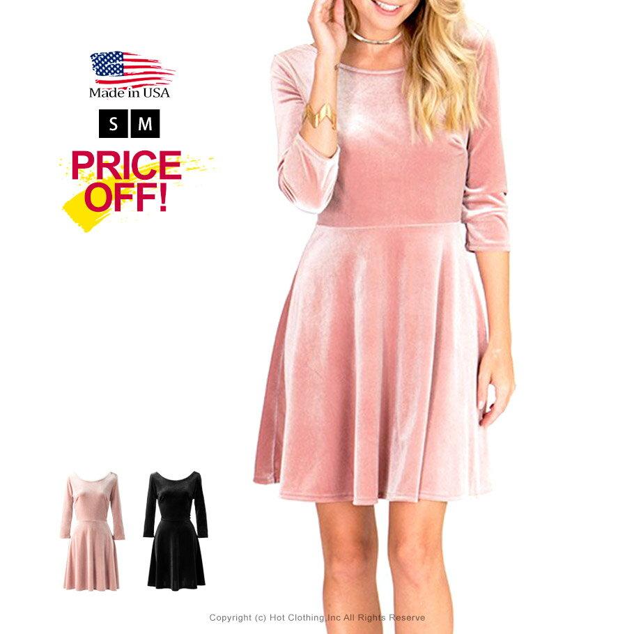 レディースファッション, ワンピース SALELA Blush Red Black S M L