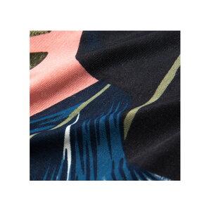 【LA直輸入★インポート】七分袖リーフ柄カシュクールマキシワンピース-ls-jf-op300-詳細画像