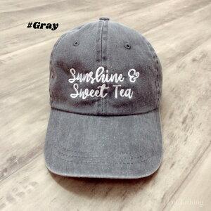 【LA直輸入★インポート】Sunshine&SweetTeaロゴキャップ-f-o7-ht004-詳細画像