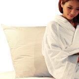 ホテルピロー(枕)大きいサイズ クッションや背もたれにもなる大きなマクラ(ホテルまくら大サイズ)◆日本製