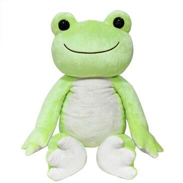 かえるのピクルス ベーシックピクルス 2Lサイズ【特大ぬいぐるみ・ pickles the frog・誕生日・クリスマス・プレゼント】