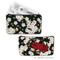 ポーチ小サイズ三色桜