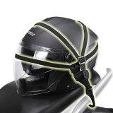 オートバイヘルメットロープ約60cmバンドフック付き荷台用ゴムひも荷物伸縮調整スライド式固定弾性抜群高品質ゴムしっかり固定HELRP60C