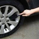 車用ホイールブラシコンパクトタイヤ・車体の清掃に収納簡単XC003