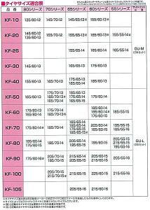 アムスかんたん君ラダー型金属タイヤチェーンKF-100/205/70R15215/70R15215/65R15225/60R15215/55R1