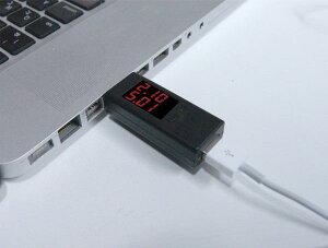 カシムラ:USB電流/電圧チェッカーUSBポート付き同時表示タイプ簡単チェック!/AJ-457