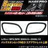 ハセプロ LCBSN-AOS8 レガシィ BP5/BPE H15.5〜H18.10 バックスキンルックNEO エアアウトレット上部 マジカルアートレザー