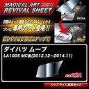 ムーブ LA100S MC後(2012.12〜2014.11) 車種別カット ヘッド...