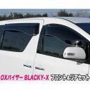 BLACKY-X ブラッキーテン フロント&リアセット 超真っ黒 セ...